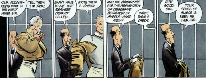 Dark Knight Alfred