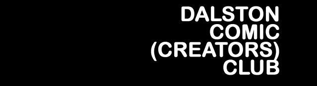 Dalston Comic Creators Club Page Banner