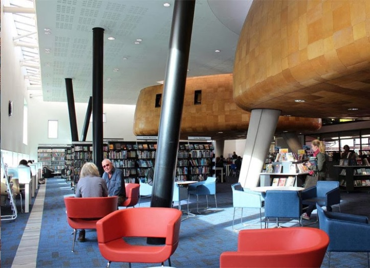 peckham library inside