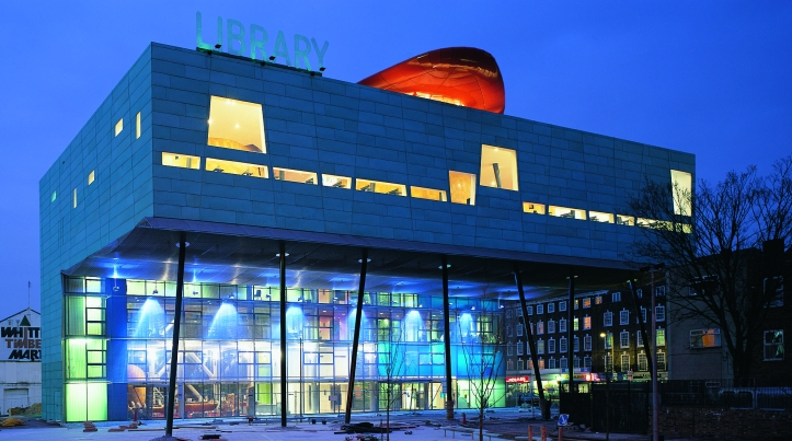 peckham library outside