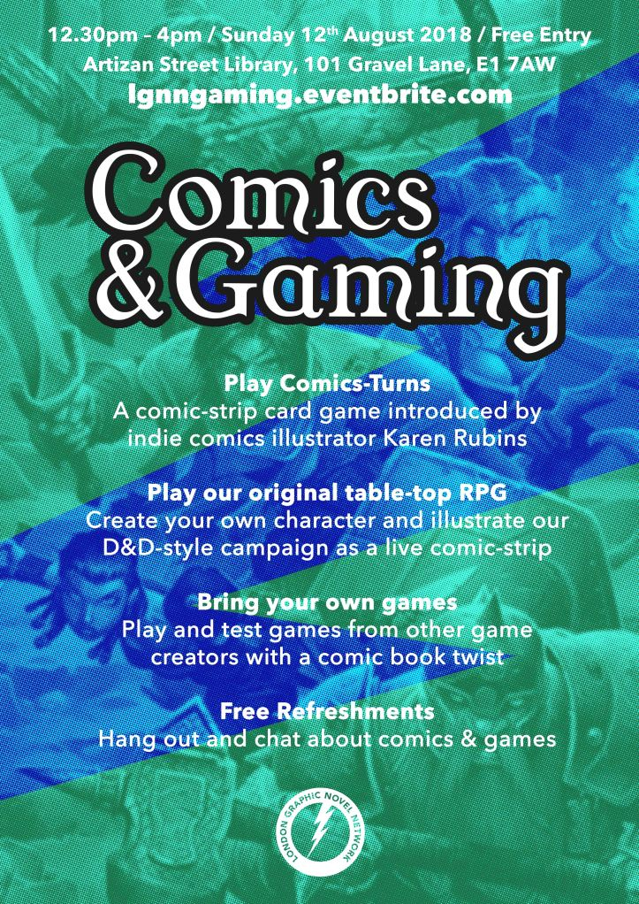 LGNN_Comics&Gaming_Poster
