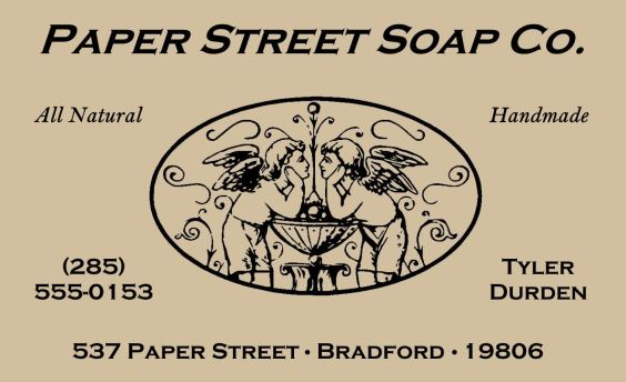 Paper Street Soap